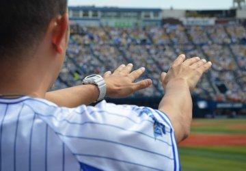 Promiň, sumó, Japonci žerou baseball
